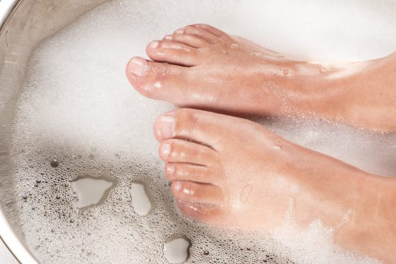 pedicure voetbad
